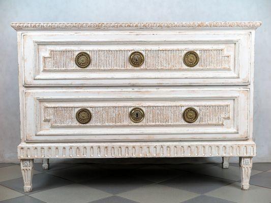 Cassettiere antiche in stile Luigi XVI, Svezia, set di 2 in vendita ...