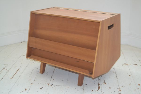Bottleship Bookcase Coffee Table By Ernest Race For Isokon