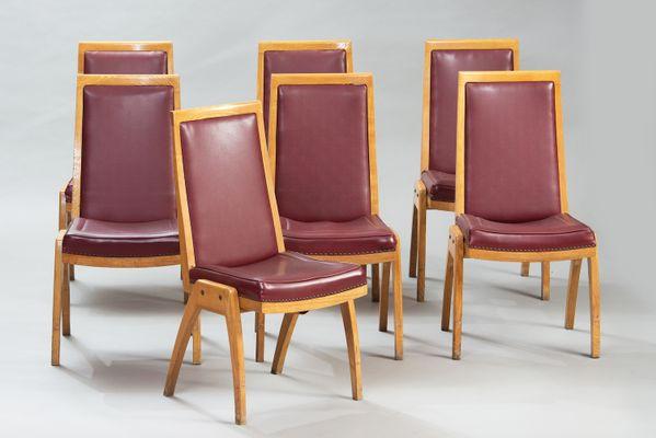 Vintage Esszimmer Österreichische vintage esszimmer stühle, 7er set bei pamono kaufen