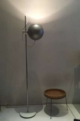 Large Globe Moon Floor Lamp 1960s For