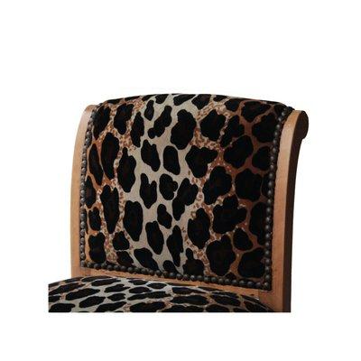 Surprising Vintage Animal Print Velvet Vanity Stool 1930S Cjindustries Chair Design For Home Cjindustriesco