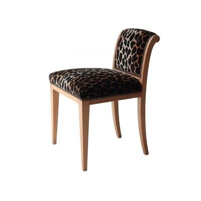 Strange Vintage Animal Print Velvet Vanity Stool 1930S Cjindustries Chair Design For Home Cjindustriesco