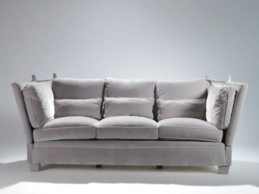 Vintage French Sofa By Maison Jansen 1970s 1