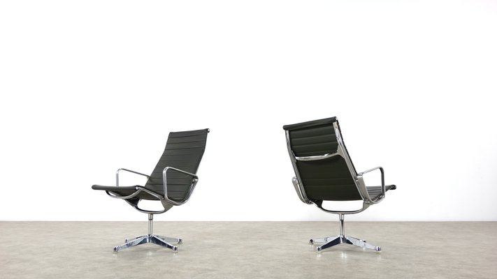 Strange Ea 116 Lounge Chairs By Charles Ray Eames For Herman Miller Set Of 2 Machost Co Dining Chair Design Ideas Machostcouk
