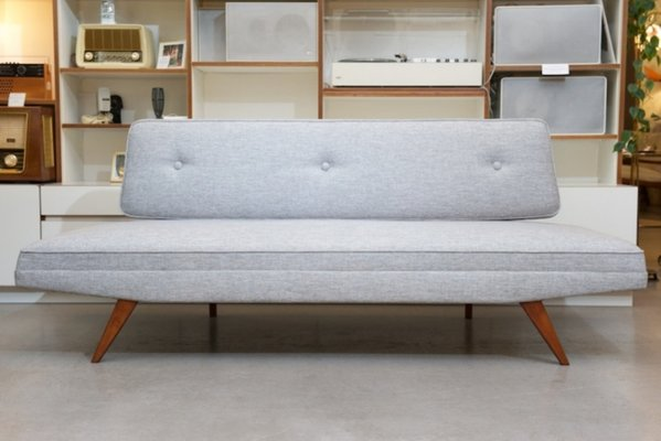 Sofa Daybed In Light Gray From Belfort 1958 1