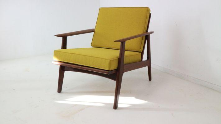 Danish Teak Lounge Chair, 1960s 2