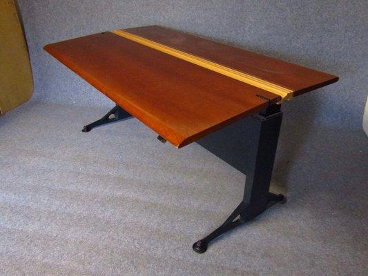 Verstellbarer Schreibtisch Mit Furnier Aus Buche Von Geoff Hollington Für Herman  Miller, 1970er 2