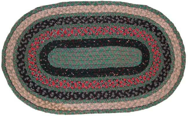 Vintage Handmade American Braided Rug 1920s For Sale At Pamono