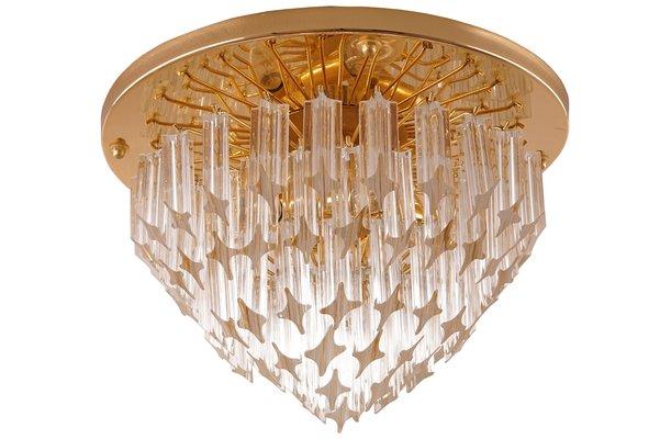 Lampade In Vetro Di Murano Moderne : Lampada a incasso mid century in vetro di murano di venini in