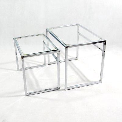 Tables Gigognes Modernistes Vintage Dikea