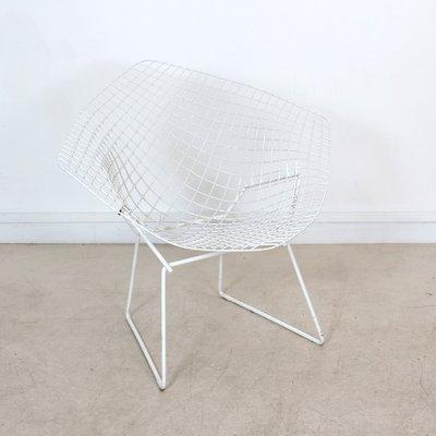 Vintage Diamond Chair By Harry Bertoia 2