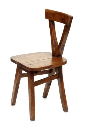 Vintage Wooden Chairs >> Vintage Wooden Chairs Set Of 4 For Sale At Pamono