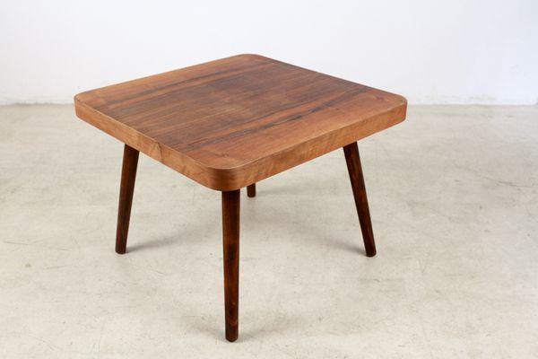 Vintage Walnut Coffee Table 2