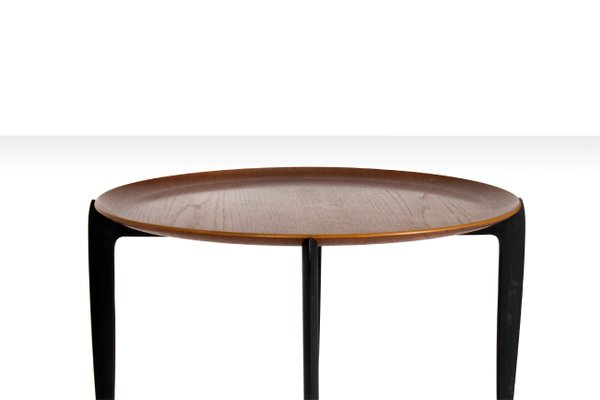 Circular Tray Table By H. Engholm U0026 S.A. Willumsen For Fritz Hansen, ...