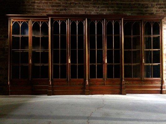 Tremendous Antique Oxford College Library Bookcase 1820S Download Free Architecture Designs Intelgarnamadebymaigaardcom