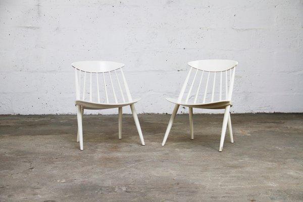 Esszimmerstühle ikea  Vintage Stühle von Gillis Lundgren für Ikea, 2er Set bei Pamono kaufen