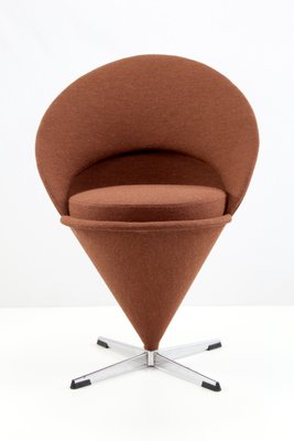 Mid Century Cone Chair By Verner Panton 1