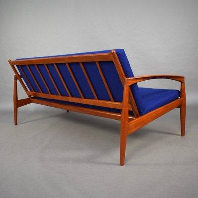 Brilliant 3 Seater Paperknife Model Sofa By Kai Kristiansen For Magnus Olesen 1960S Spiritservingveterans Wood Chair Design Ideas Spiritservingveteransorg