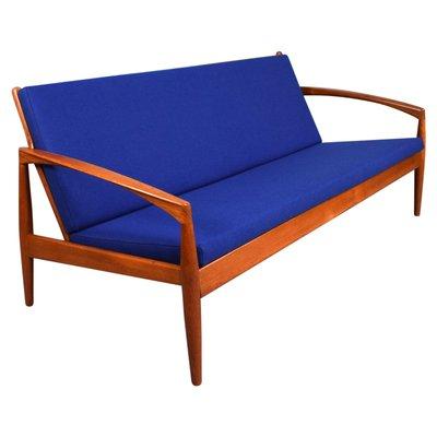 Awesome 3 Seater Paperknife Model Sofa By Kai Kristiansen For Magnus Olesen 1960S Spiritservingveterans Wood Chair Design Ideas Spiritservingveteransorg