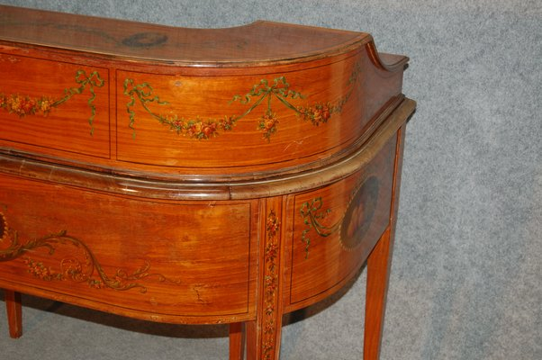 Antique English Carlton House Desk from Maple et Compagny 9 - Antique English Carlton House Desk From Maple Et Compagny For Sale