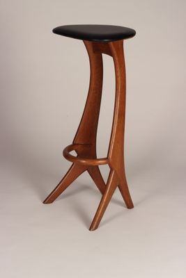 teak bar stools from reyway 1960s set of 4 for sale at pamono