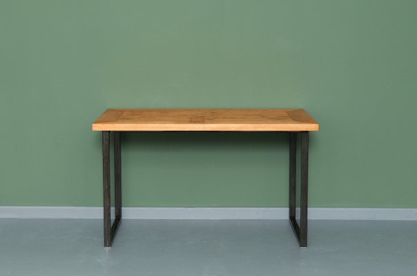 Heerlen Kitchen Table In Recycled Wood Steel By Johanenlies 1