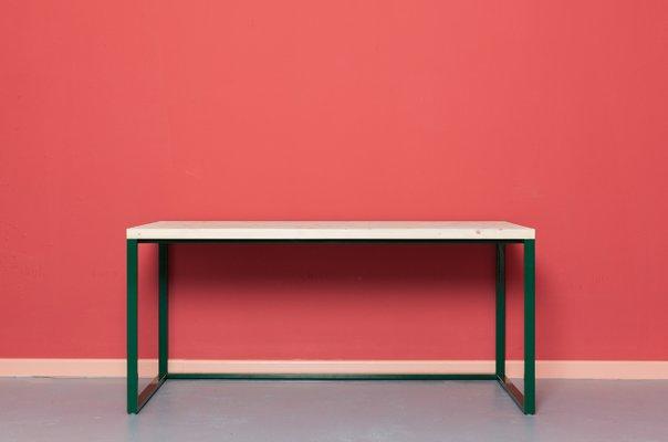 Bureau maastricht en bois recyclé & acier par johanenlies en vente