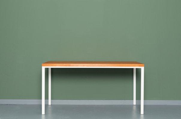 Tavolo da cucina SIMPLEVELD in legno riciclato ed acciaio di ...