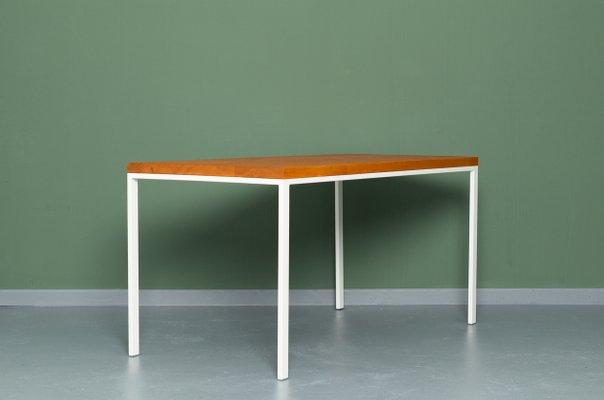 Mesa de cocina SIMPELVELD de madera reciclada y acero de Johanenlies
