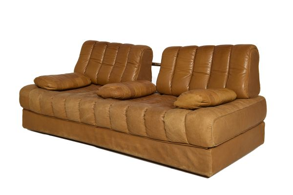 leather sofa bed for sale.  Leather DS 85 Cognac Leather Sofa Bed From De Sede 1971 2 And For Sale