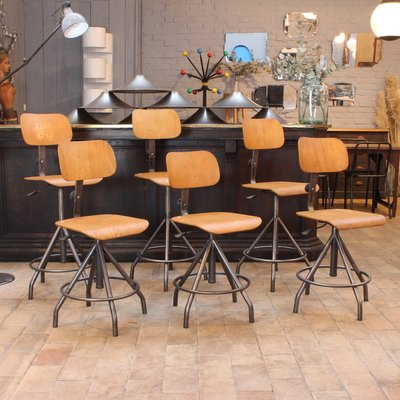 ef230e09d670 Vintage Industrial Chair by BAO for sale at Pamono
