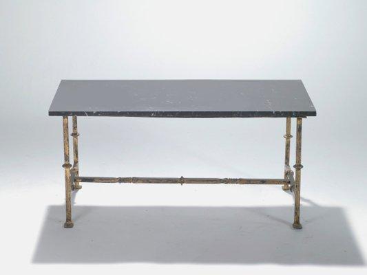 Table Basse En Fer Forge.Table Basse En Fer Forge France 1940s