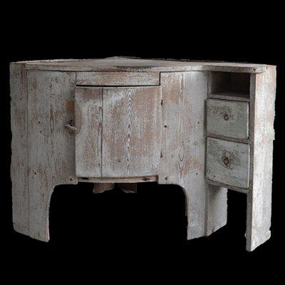 Antique Corner Cabinet 1 - Antique Corner Cabinet For Sale At Pamono