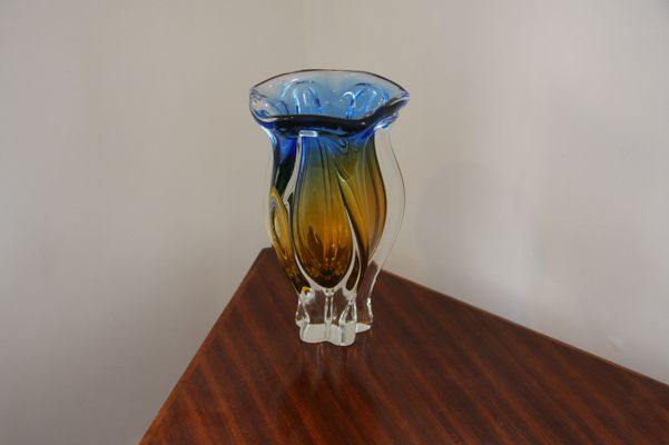 Vintage Murano Glass Vase For Sale At Pamono