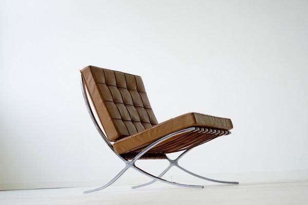 van der rohe furniture. Barcelona Lounge Chair By Mies Van Der Rohe For Knoll Inc, 1960s 3 Rohe Furniture