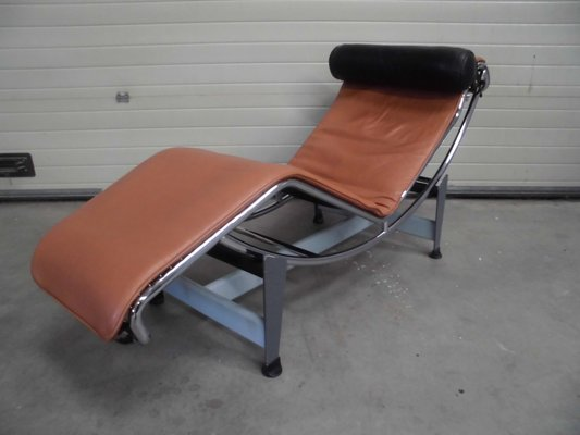 Vintage LC4 Chaise Longue By Le Corbusier Jeanneret Perriand For Cassina 2