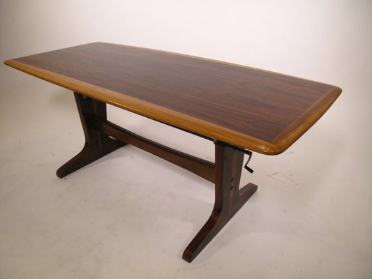 Réglable En Basse Réglable Table Réglable Table Basse En Hauteur1960s Basse Table Hauteur1960s dBoeEWQrCx