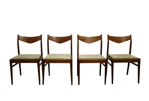 Chaises de Salon Scandinaves Vintage, 1960s, Set de 4 en vente sur ...