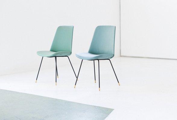 Italian Mid Century Modern Easy Chairs