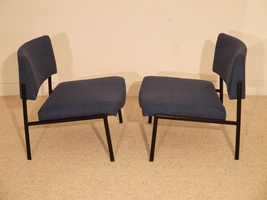 Genial French Fireside Chairs, 1960s, Set Of 2