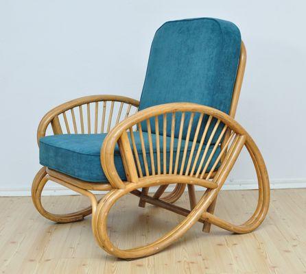 Bamboo Armchair, 1950s 1