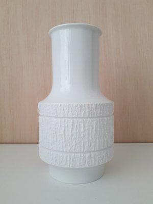 Vintage Porcelain Vase By Richard Scharrer For Thomas 1960s For