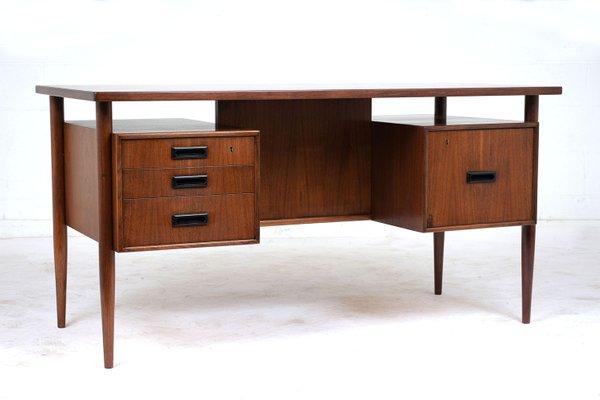 Mid Century Modern Teak Desk 2