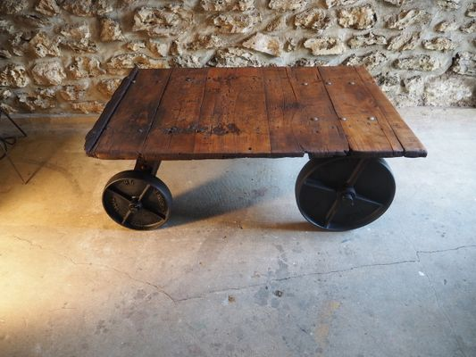 Vintage Wooden Slingsby Trolley Other Architectural Antiques