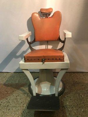 Franzosischer Vintage Barber Stuhl