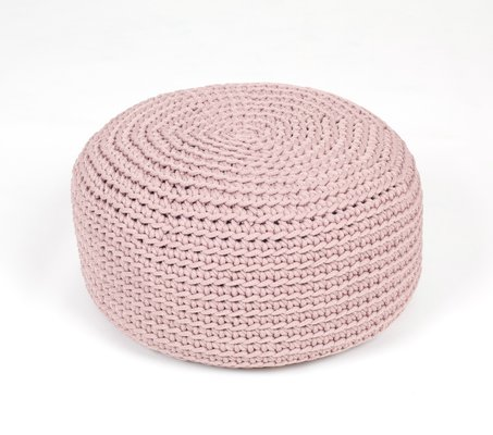 Remarkable Crocheted Pouf From Sanfates Cjindustries Chair Design For Home Cjindustriesco
