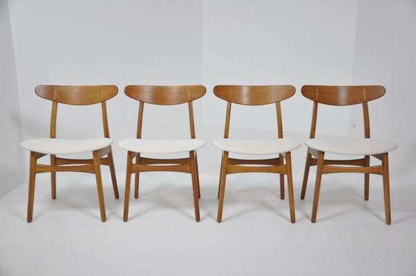 Vintage CH30 Chairs By Hans J. Wegner For Carl Hansen, 1950s, Set Of