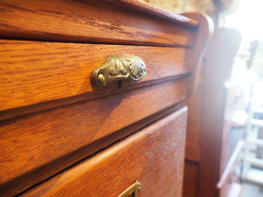 Meuble d archivage de notaire en chêne s en vente sur pamono