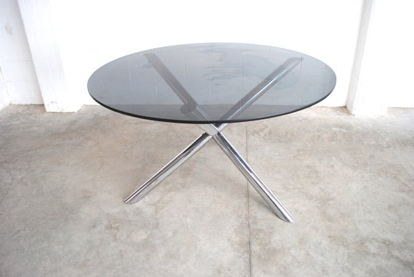 Mobili Roche Bois.Vintage Dining Table By Renato Zevi For Roche Bobois