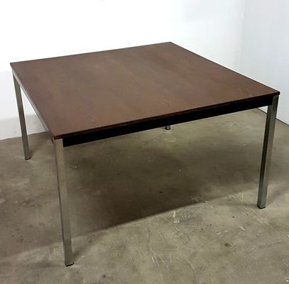 Mid Century Square Wenge Dining Table By Martin Visser For U0027T Spectrum 6